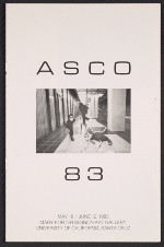 [Exhibition Pamphlet, ASCO 83 at the Mary Porter Sesnon Art Gallery at the University of California, Santa Cruz cover 2]