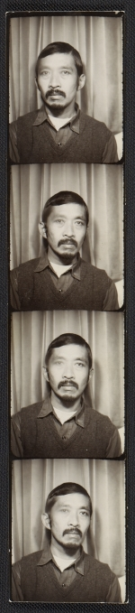 [Ray Yoshida photo strip ]