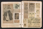 [Ray Yoshida scrapbook of advertisement clippings pages 2]