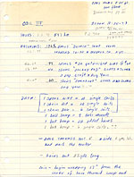 Zeisler's notes on the construction of Coil III - A Celebration