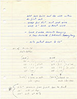 [Zeisler's notes on the construction of Coil III - A Celebration page 2]