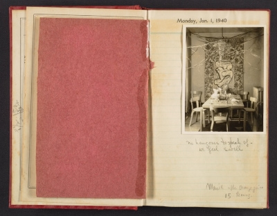 Karl and Marion Zerbe diary