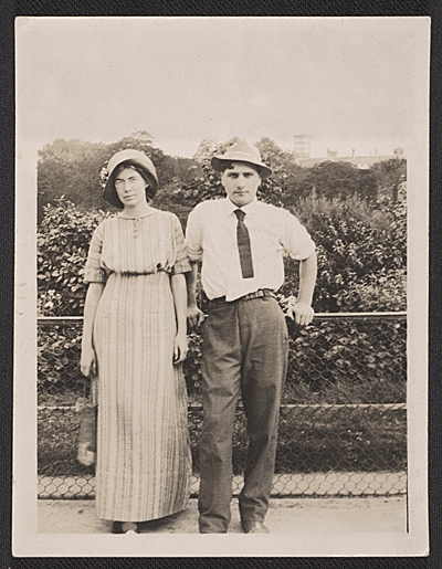 [Marguerite Thompson and William Zorach in Paris]
