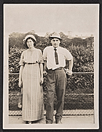 Marguerite Thompson and William Zorach in Paris