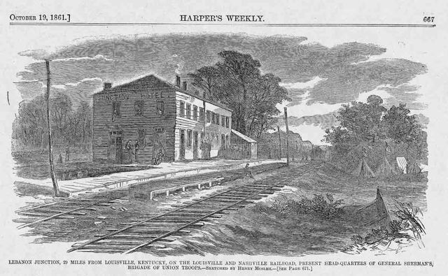 October 19, 1861 Harpers Weekly page 667