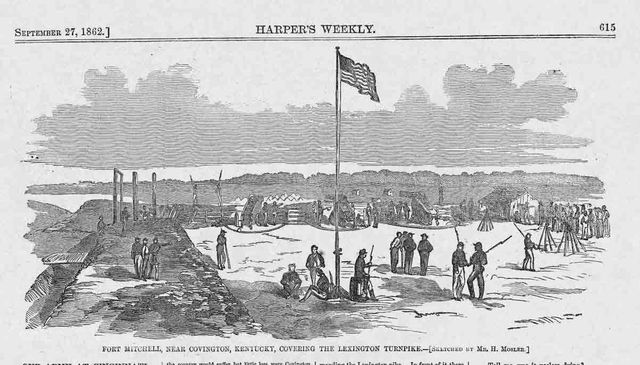 September 27, 1862 Harpers Weekly page 615 top