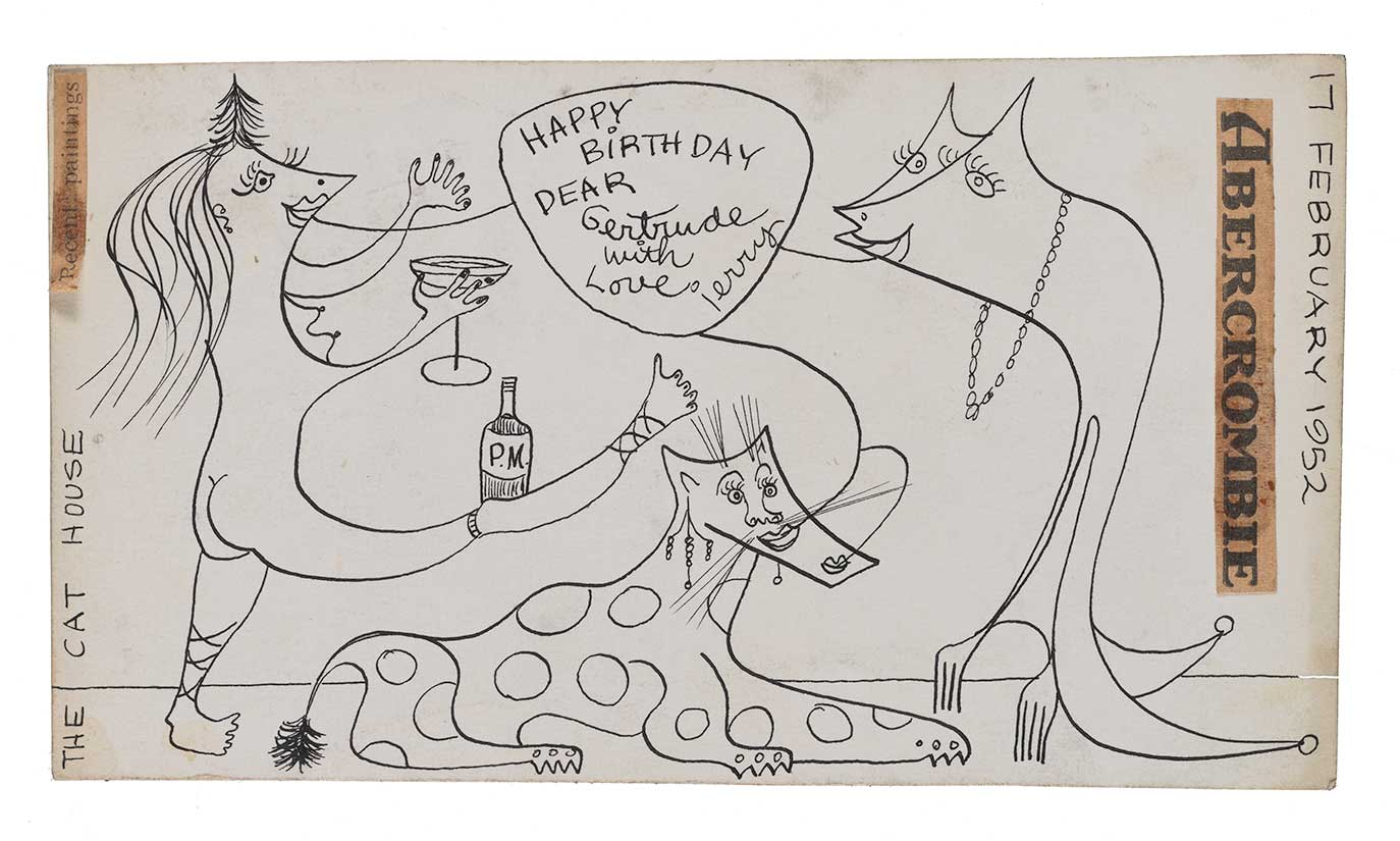 Birthday Greeting illustrated by Jerome Karidis