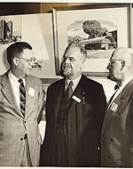 S. Lane Faison, Henry-Russell Hitchcock, and Karl Staley, 1953 Jan. 29