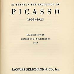 Jacques Seligmann and Co. Records