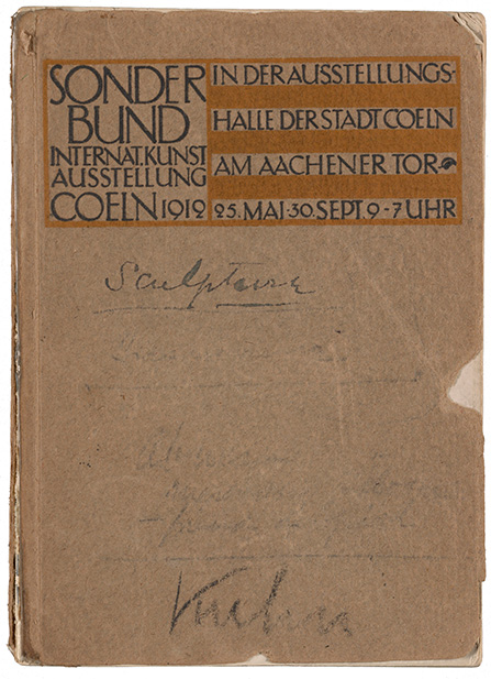 Sonderbund exhibition catalogue