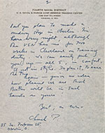 Charles Parkhurst letter to Perry Rathbone, 1954 August 17