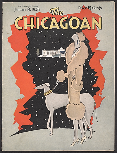The Chicagoan, 1928 Jan. 14. John Henry Bradley Storrs papers, Archives of American Art, Smithsonian Institution.