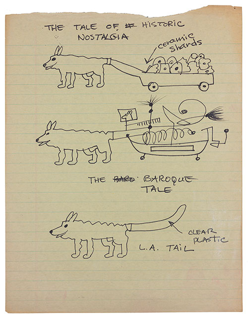 Page from Dog Lecture by Roy De Forest