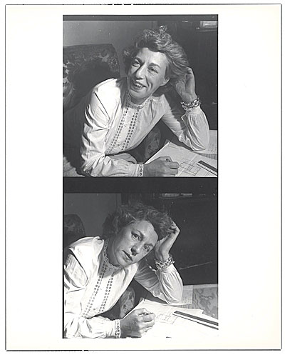 Photograph of Esther McCoy, ca. 1944