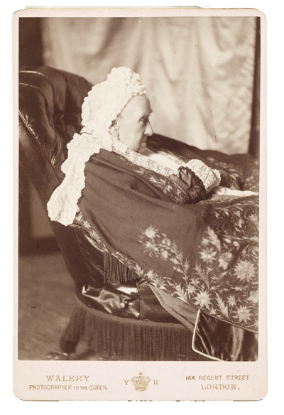 Photograph of the Duchess of Cambridge, between 1884 and 1889