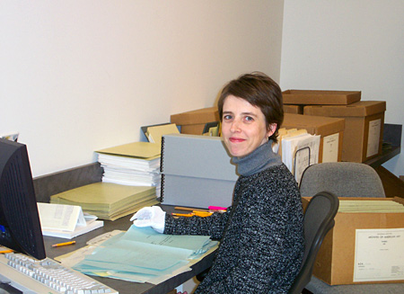Project Archivist Stephanie Ashley