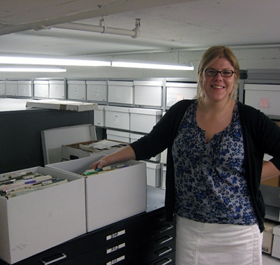 Intern Caitlin Lampman, June 2011