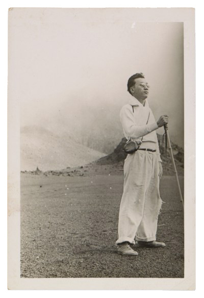 Photograph of Reuben Tam on Haleakala Crater