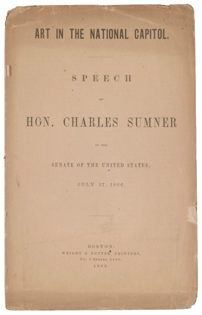Speech by Charles Sumner