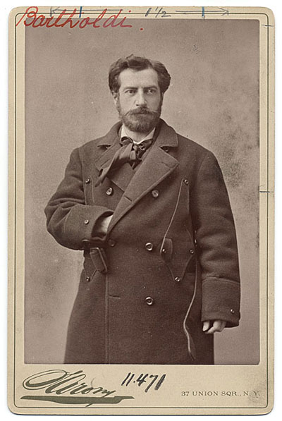 Photograph of Frederic Auguste Bartholdi
