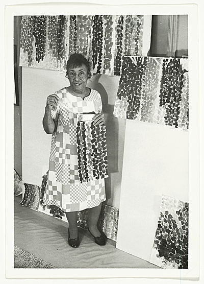 Photograph of Alma Thomas