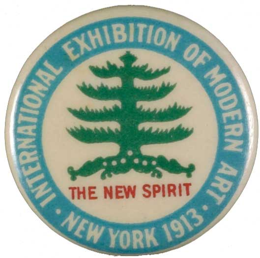 Button from the Armory Show, 1913