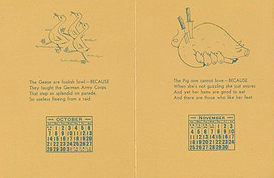 Verses by William Adams Delano with illustrations by Tina Safranski