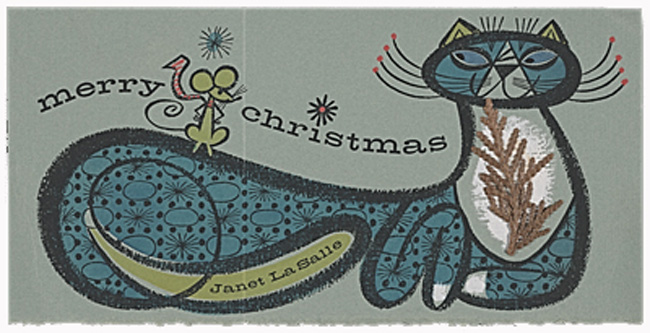 Christmas card by Janet LaSalle
