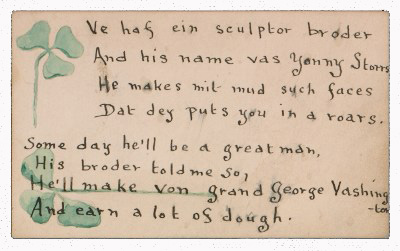 Illustrated poem about John Henry Bradley Storrs
