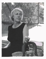 Julius Shulman photograph of Esther McCoy
