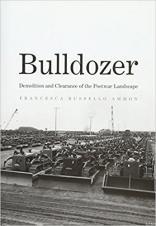 "Book cover of ""Bulldozer: Demolition and Clearance of the Postwar Landscape"" by Francesca Russello Ammon"