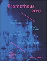"Book cover of ""Prometheus 2017: Four Artists from Mexico Revisit Orozco"" by Rebecca McGrew et al."