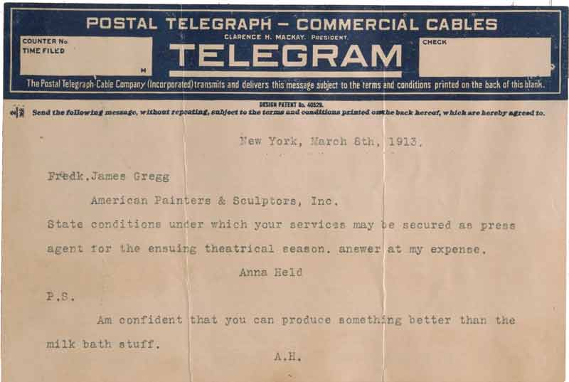 Imaginary Telegram