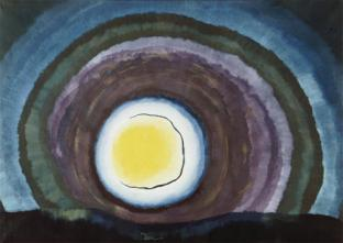 Figure 19. Arthur Dove, Sunrise III, 1936, Wax emulsion and oil on canvas, 25 x 35 in., Yale University Art Gallery, Gift of Katherine S. Dreier to the Collection Société Anonyme.