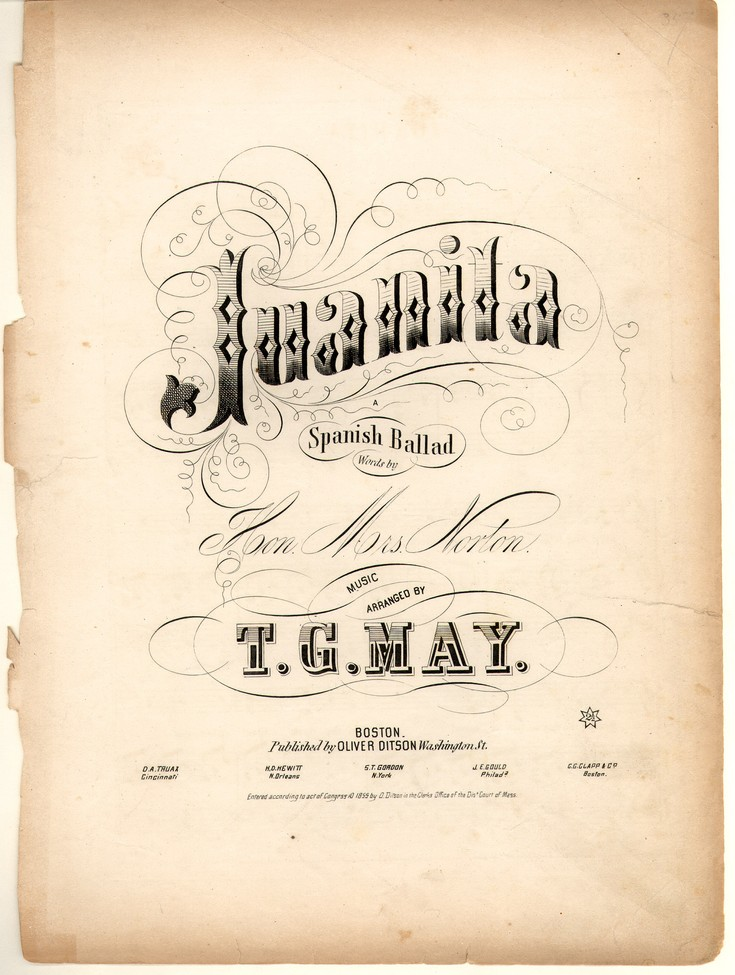 Sheet Music For Juanita