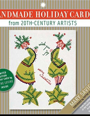 Book cover of 'Handmade Holiday Cards from 20th Century Artists'