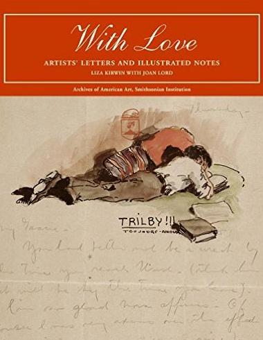Book Cover for 'With Love: Artists' Letters and Illustrated Notes'