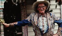 "Photograph of Loy Bowlin also known as ""The Original Rhinestone Cowboy."""