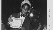 Photograph of Jean Michel Basquiat by Ben Buchanan