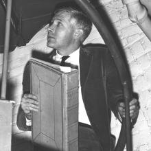 McCoy on Stairs 1963
