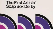 Detail of program from the 1975 San Francisco Artists' Soap Box Derby