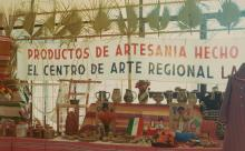 Detail of display from El Centro de Arte Regional
