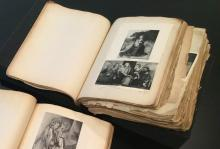 Photograph of Ibram Lassaw's Encyclopedia