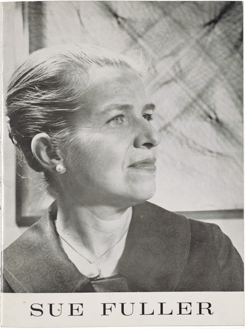 Figure 11. Photograph of Sue Fuller, Sue Fuller letters to Florence Forst, Archives of American Art, Smithsonian Institution.